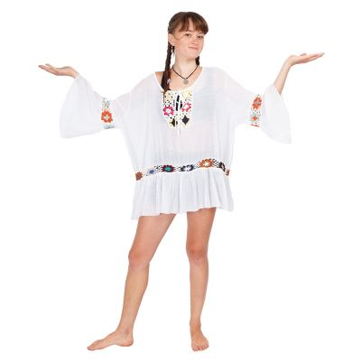 Summer blouse Vera White | UNI
