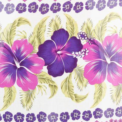 Sarong / pareo Hibiscus Purple Thailand