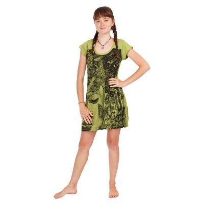 Dress Sure Buddha's Butterflies Green | S, M, L, XL