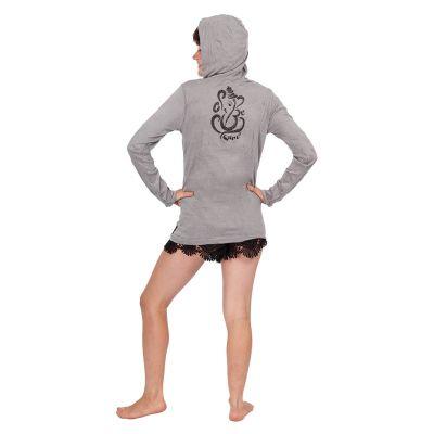 Women's hooded t-shirt Sure Elephant Grey Thailand