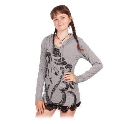 Women's hooded t-shirt Sure Elephant Grey   S, M, L, XL