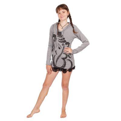 Women's hooded t-shirt Sure Elephant Grey | S, M, L, XL