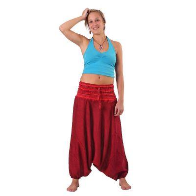 Harem trousers Perempat Merun