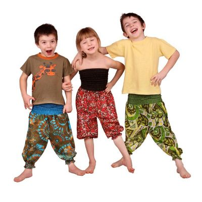 Children trousers Lagoon Gold
