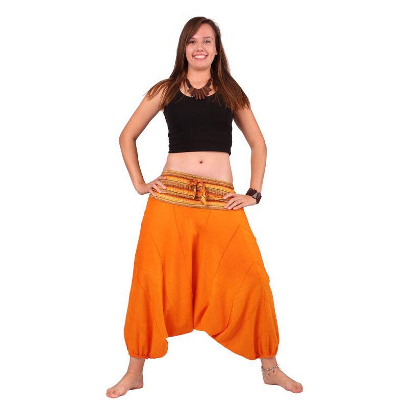 Harem trousers Perempat Jeruk