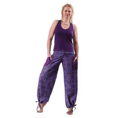 Trousers Lompat Ungu