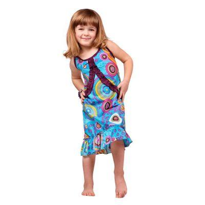 Child dress Choli Lagoon