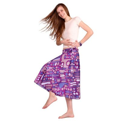 Wraparound skirt Dewa Ungu