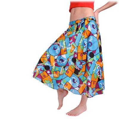 Wraparound skirt Dewa Maze