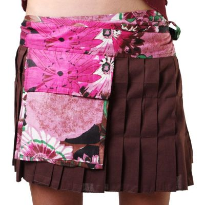 Wraparound skirt Nika Sumber India