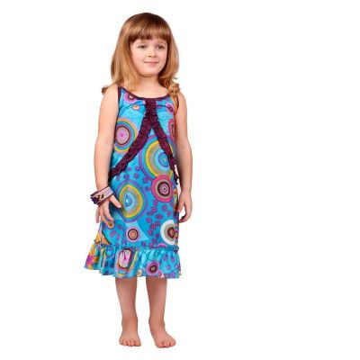 Child dress Choli Lagoon