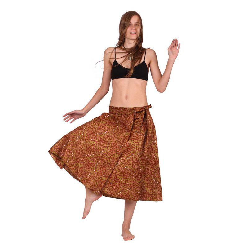 Wraparound skirt Dewa Asli