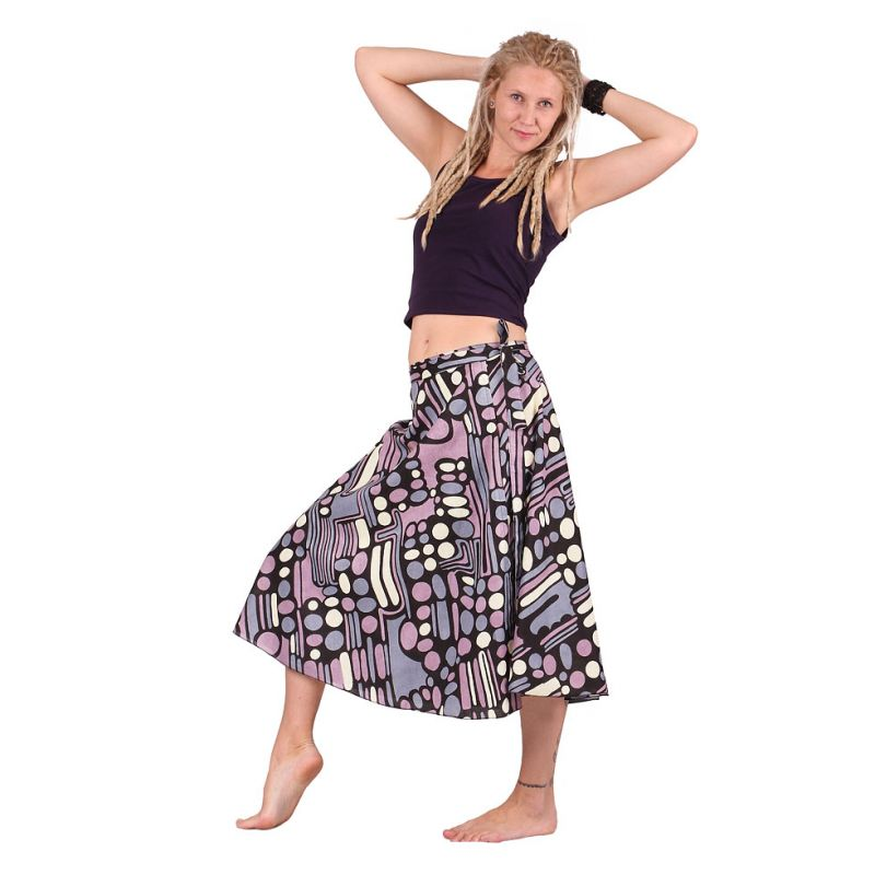 Wraparound skirt Dewa Crayon