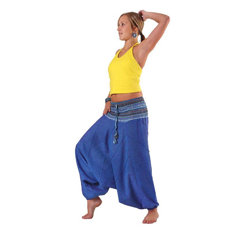 Trousers Perempat Biru