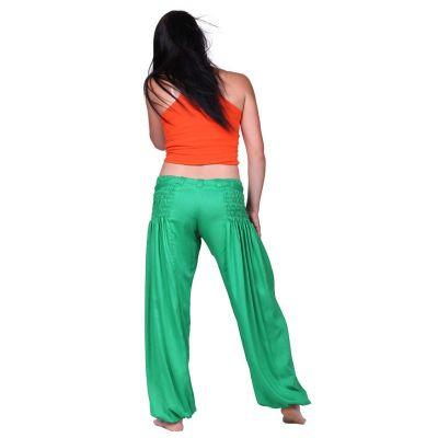 Trousers Segi Green Rayon