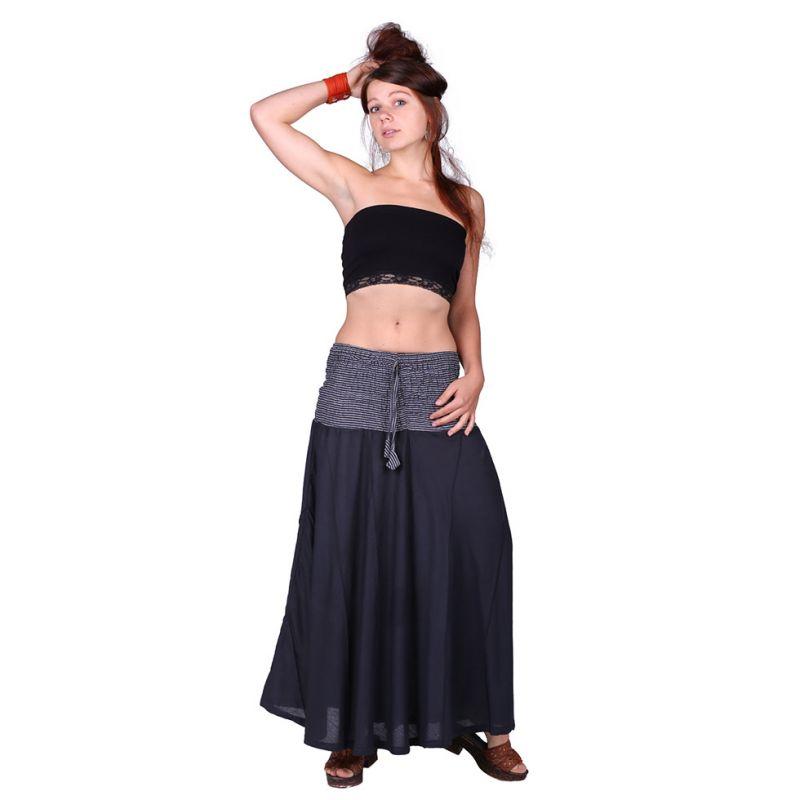 Long skirt Rea Hitam