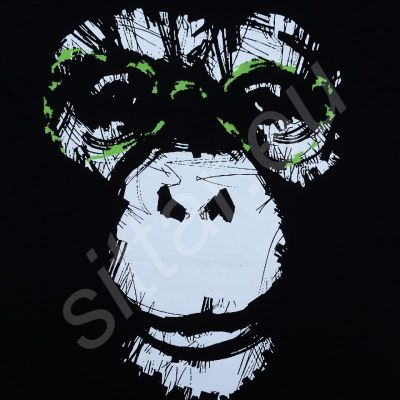 T-shirt Well-read Monkey