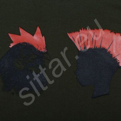 T-shirt Punk Heads
