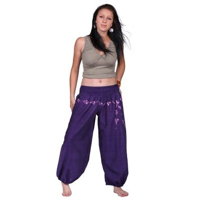 Trousers Sabuk Ungu