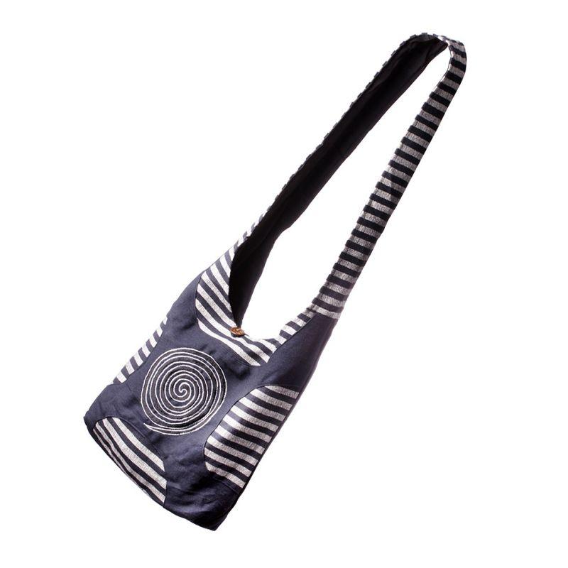 Bag Black Spiral