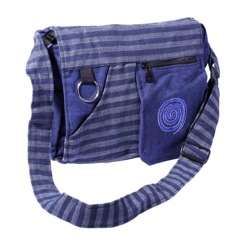 Bag Lifurna Biru Spiral