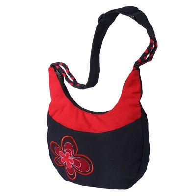 Bag Bunga Merun