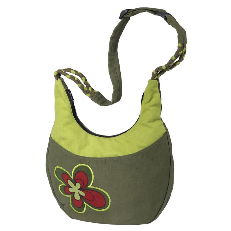 Bag Bunga Hijau
