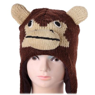 Woolen hat Monkey
