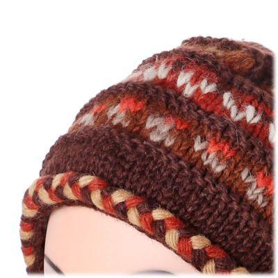 Woolen hat Annapurna Brown