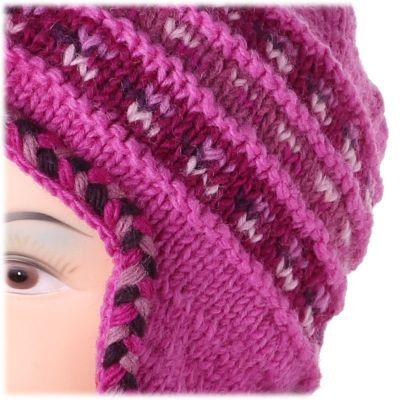 Woolen hat Annapurna Pink