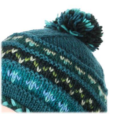 Woolen Hat Annapurna Turquoise
