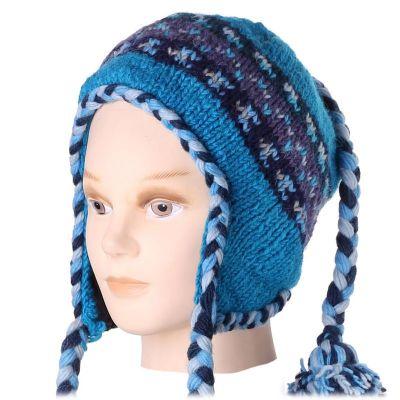 Woolen hat Manaslu Blue