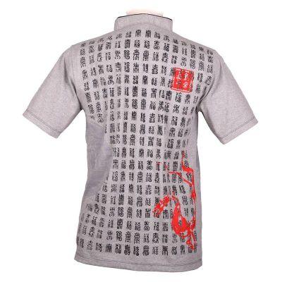 Oriental t-shirt Emperor Pinyin Grey