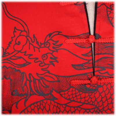 Oriental t-shirt Emperor Dragon Red