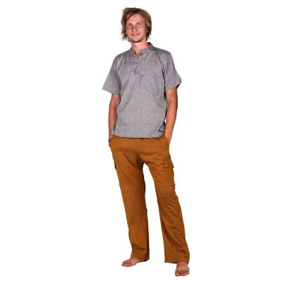 Kurta Pendek Fulmar - men's shirt with short sleeves Nepal