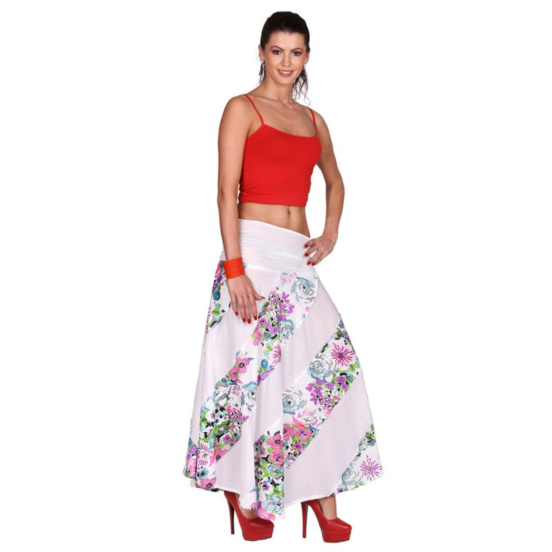 Long skirt Hawa Putih