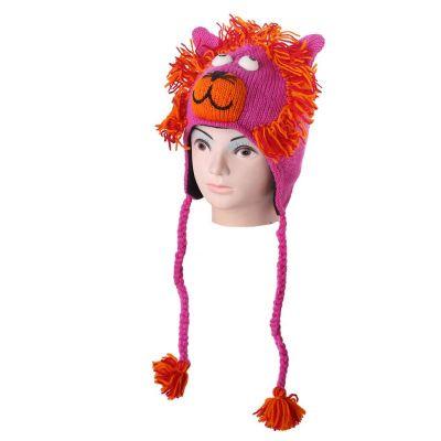 Hat Pink lion