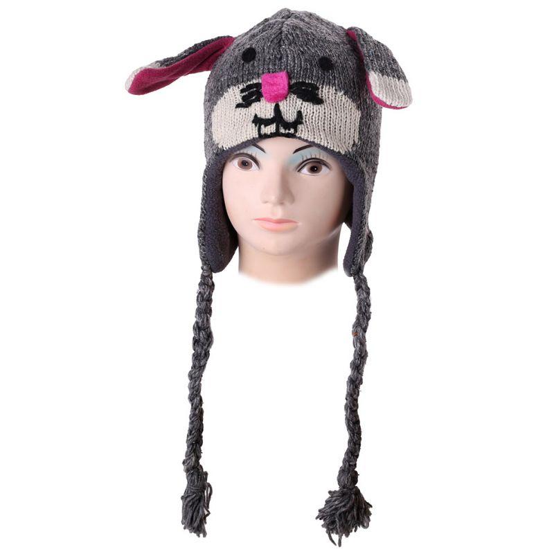 Woolen hat Rabbit