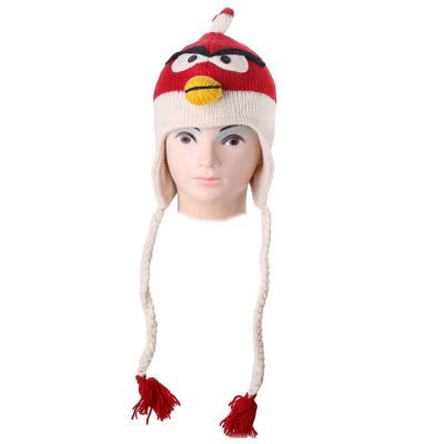 Hat Angry Bird - red