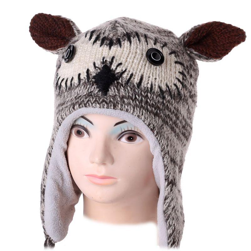 Woolen hat Owl