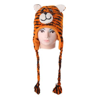 Woolen hat Tiger