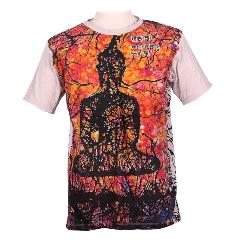 Mirror t-shirt Buddha