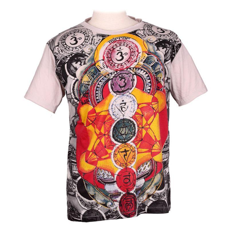 Mirror t-shirt Chakras