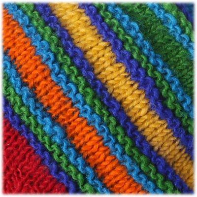 Woolen Hat Rindu Rainbow