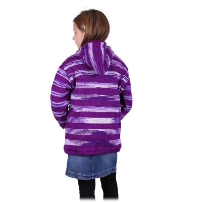 Woolen sweater Purple Queen