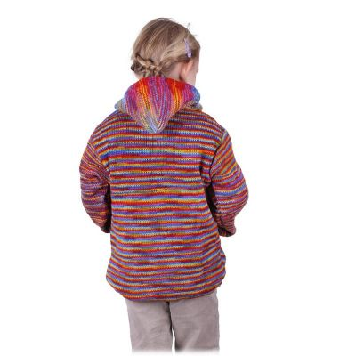 Woolen sweater Rainbow Flight