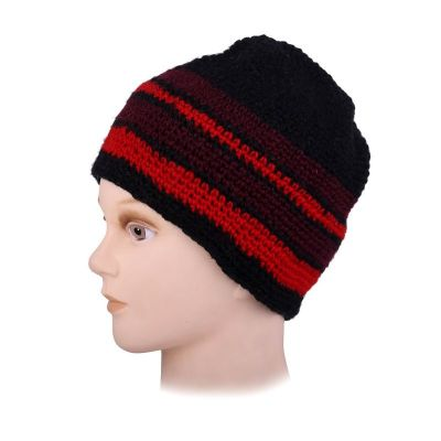 Woolen hat Datar Red Stripes
