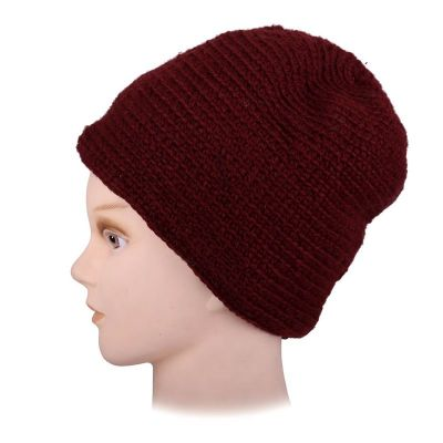 Woolen hat Arna Red