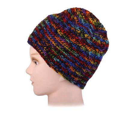 Woolen hat Arna Rainbow