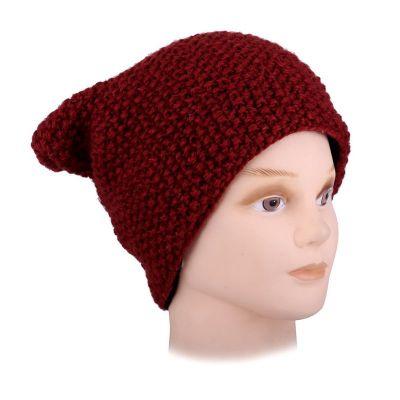 Woolen hat Istri Red